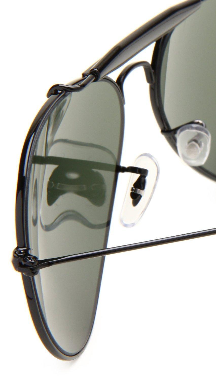f6dc6aaea3 Ray-ban Men  39 s Rb3217 Metal Outdoorsman Sunglasses