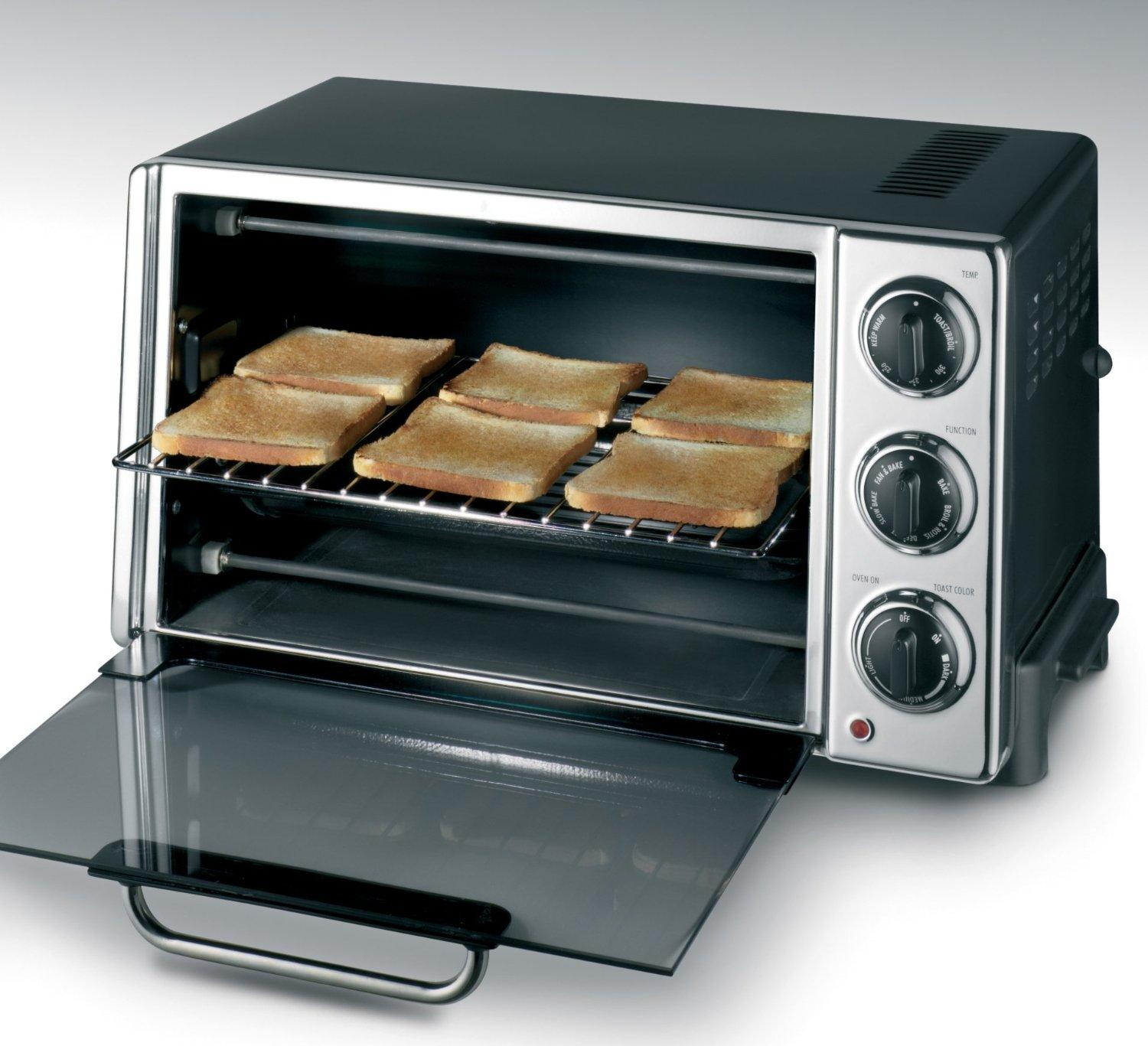 Countertop Oven Delonghi : DeLonghi RO2058 6-Slice Convection Toaster Oven with Rotisserie