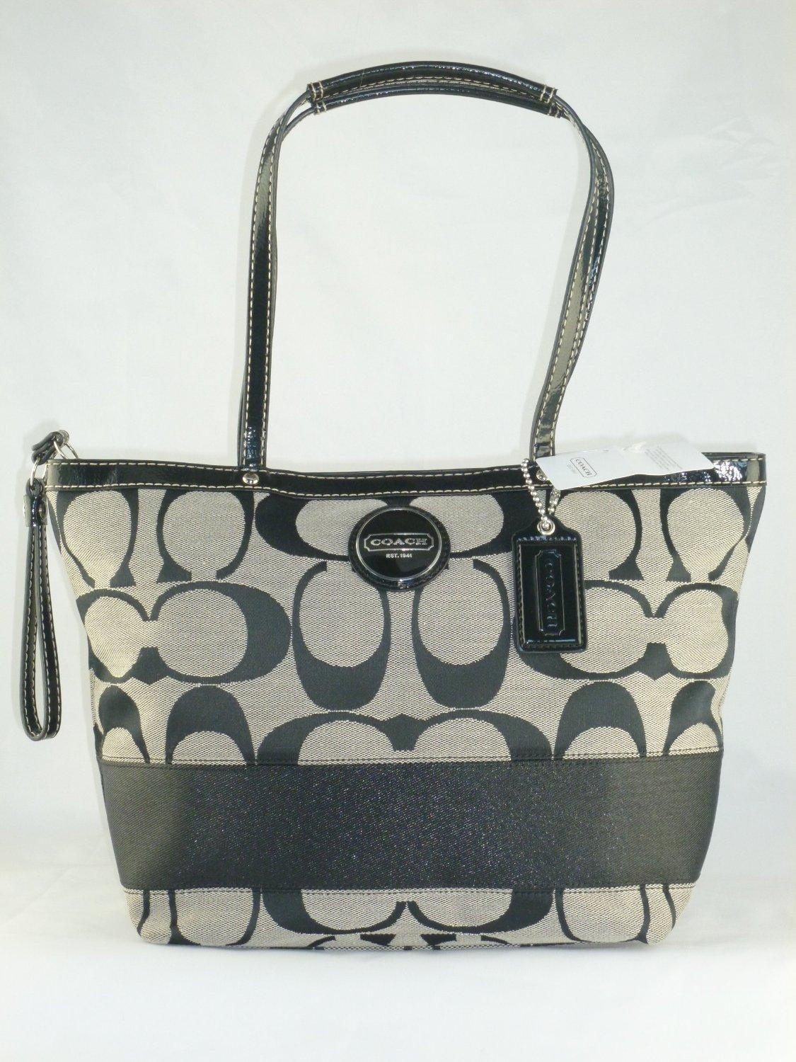 coach gray purse pr2a  coach gray purse