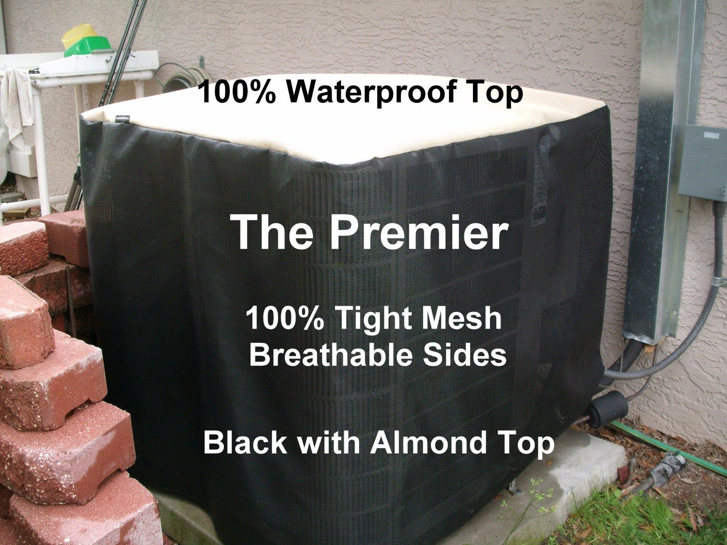 Air Conditioner Cover Winter Premier 24x24x 26ht ALMOND TOP B #714638