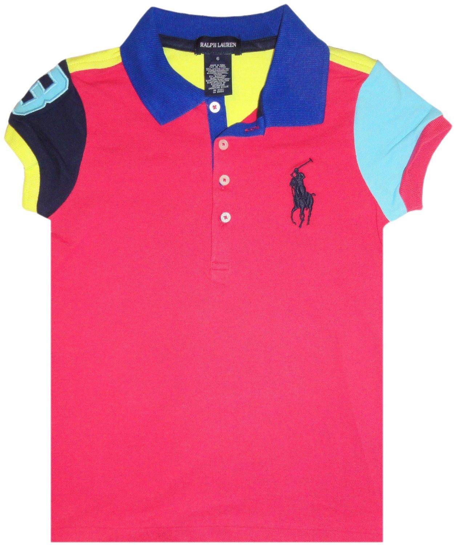 Discounted ralph lauren girls for Ralph lauren polo club shirts