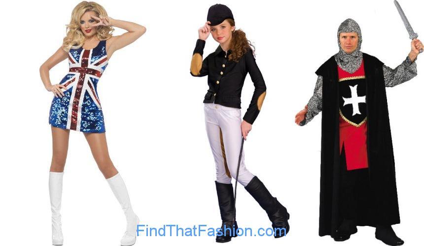 English Costume International Costumes
