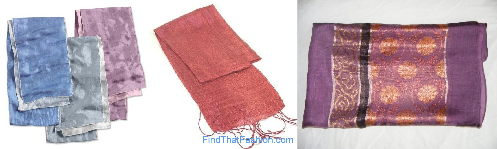 Thai Silk Scarfs