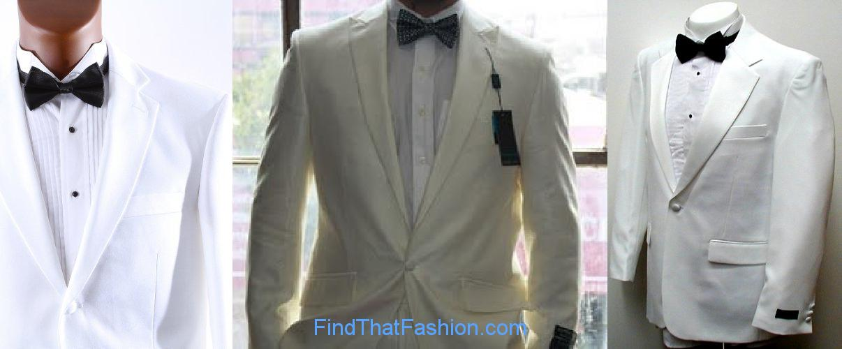 Best Man White Suits