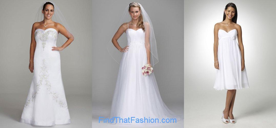 Bridal Gowns Sweetheart Neckline