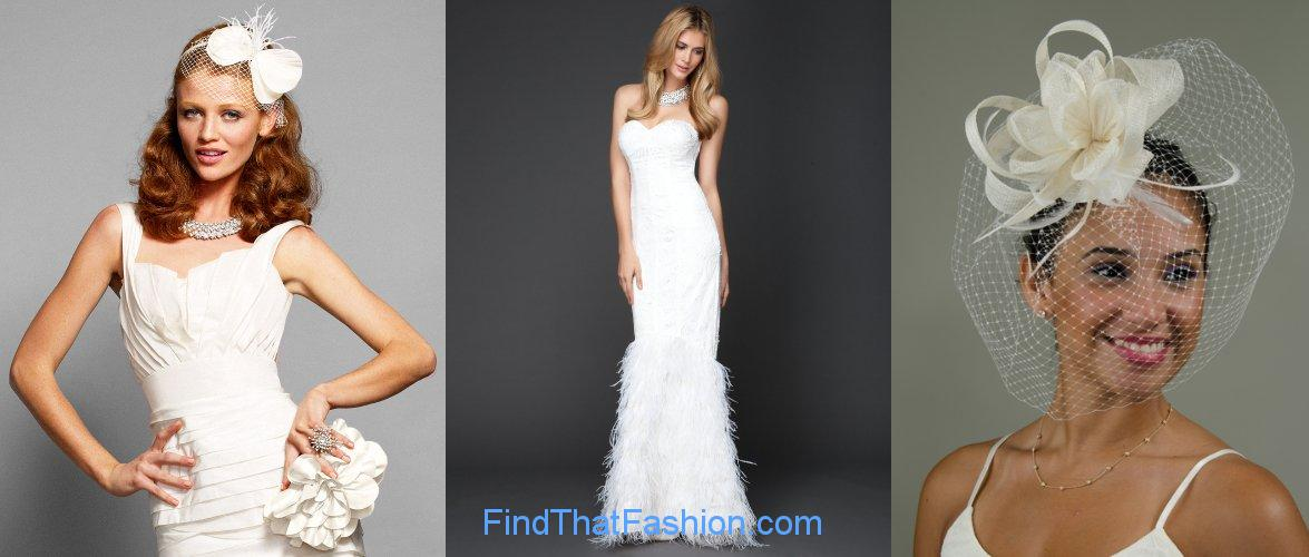 Bridal Gowns With Feathers