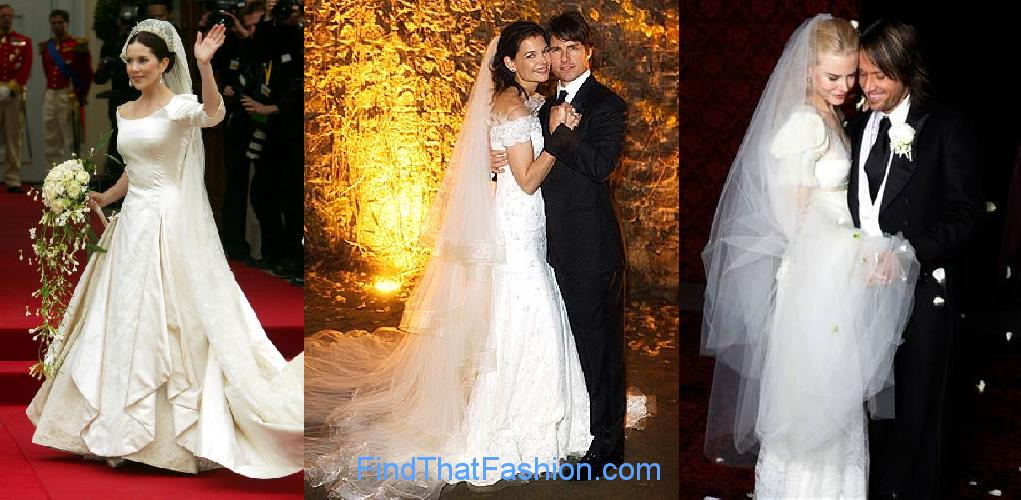 Celebrity Bridal Gowns