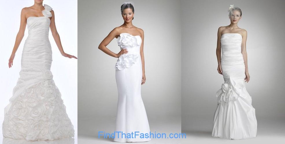 Mermaid Bridal Gowns 2012
