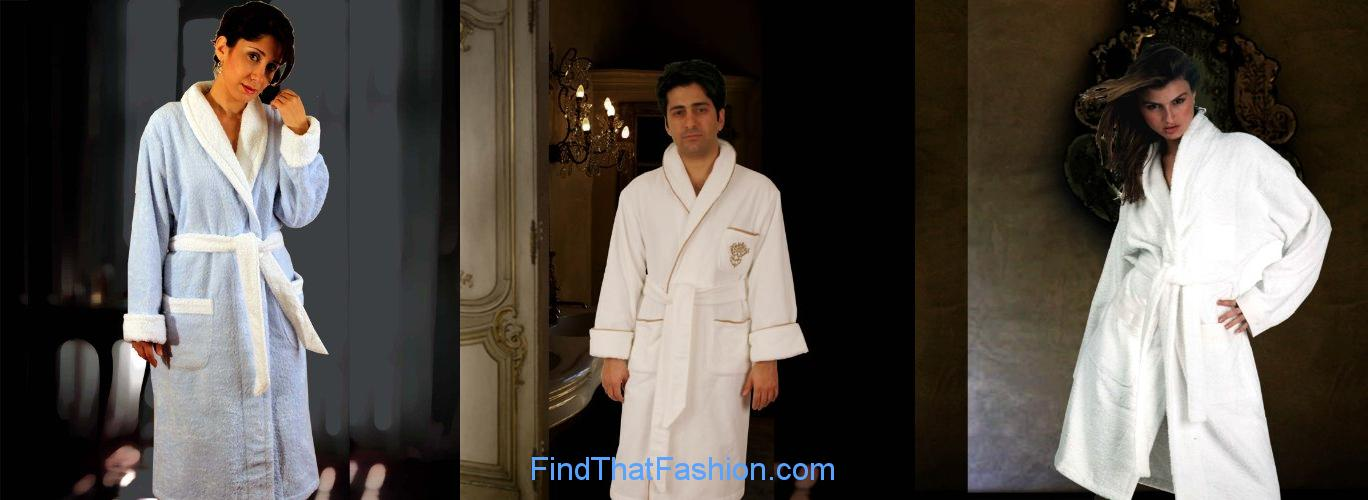 Armani International Wedding Bath Robes