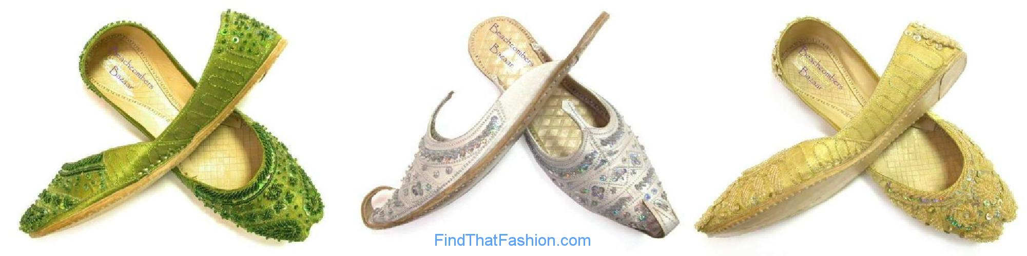 Beachcombers! Indian Wedding Shoes