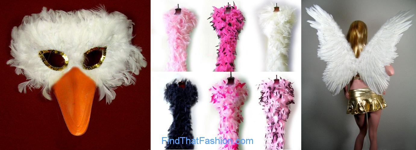 Partygaga Feathered Costumes