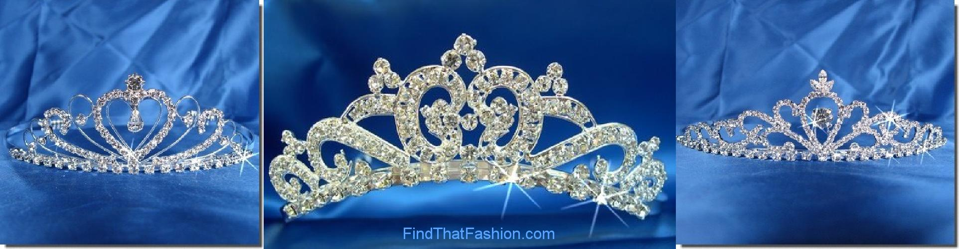 SparklyCrystal Wedding Tiaras
