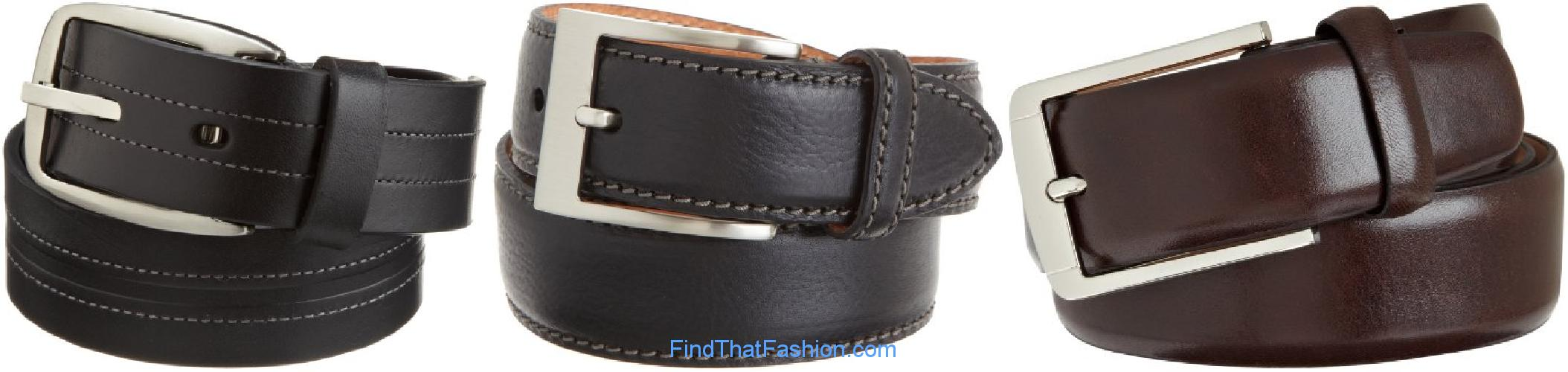 Trafalgar Mens Leather Belts