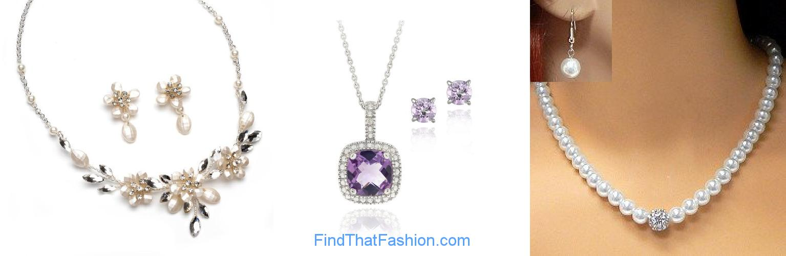 Wedding Jewelry Necklaces