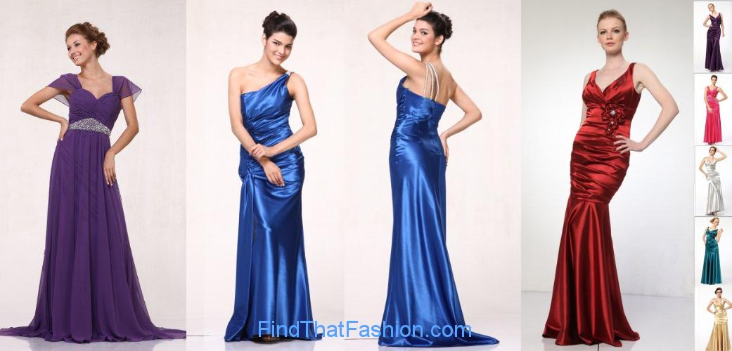 Open Back Prom Dresses