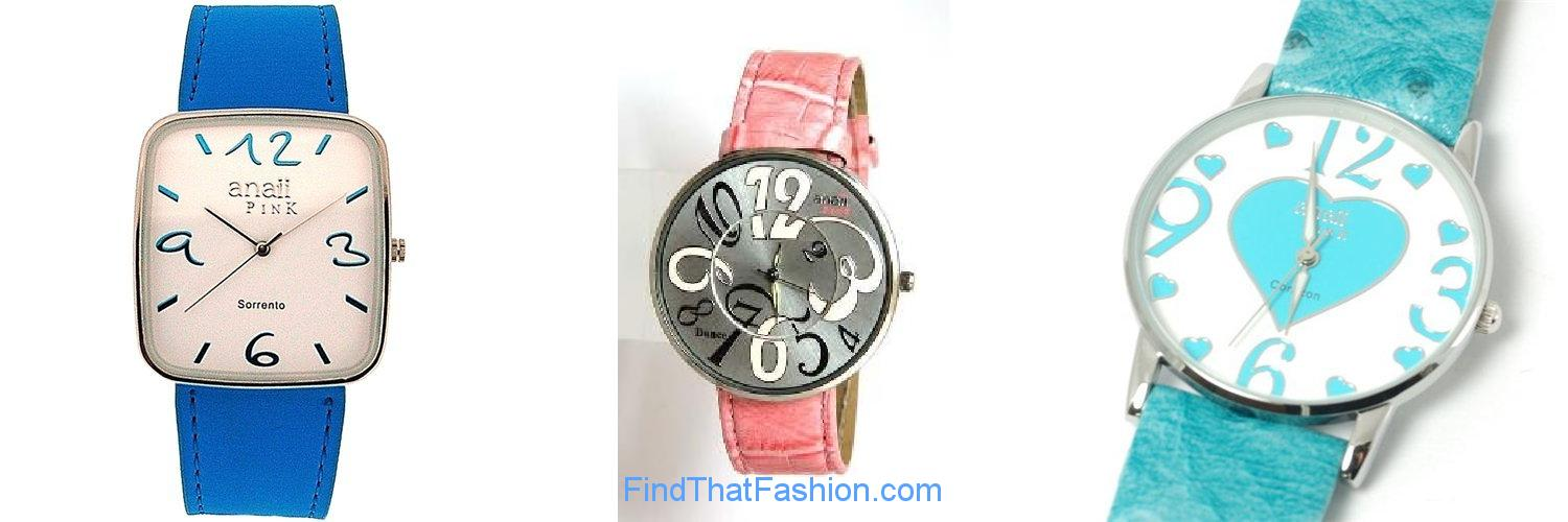 Anaii Pink Watches